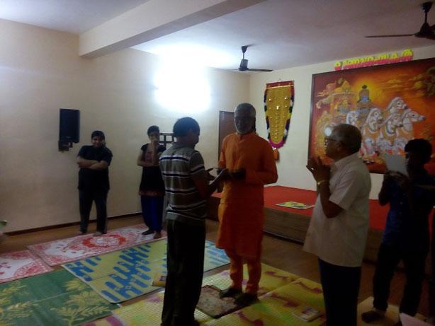YOGA certificates given by Swamy Vivekananda Theerthapadar