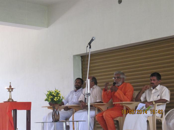 speach by Swamy Vivekananda Theerthapadar