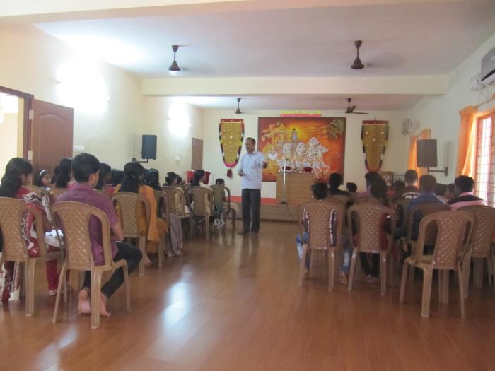 Class taken by Mr Ciriac ( kumaramangalam  agriculture officer )